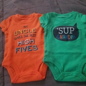 Lot of 2 onsies